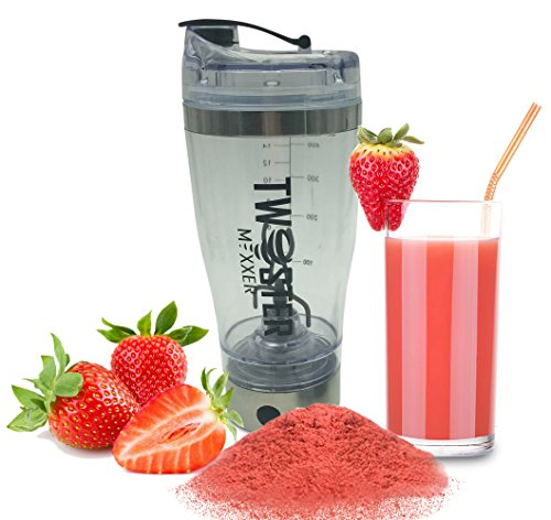 Powered Protein Shaker Bottles With Built In Electric