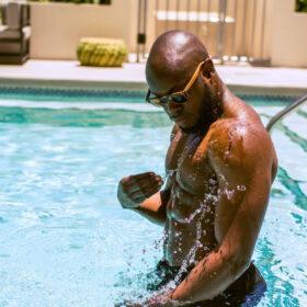 Swimming Man