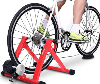 Sportneer Turbo Trainer Red